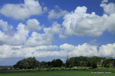 Jislum, mooi in het landschap