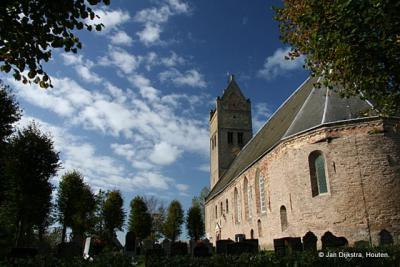 De Redbadtsjerke in Jorwert is de enige kerk in Fryslân die aan Sint Radboud is toegewijd