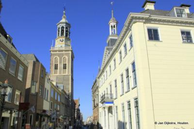 In het centrum van de mooie stad Kampen