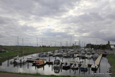 De haven van Kamperland