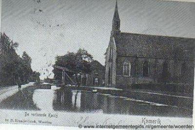 Kanis, zie hier het bewijs dat dit dorpje rond 1910 nog 'De verkeerde Kanis' werd genoemd.