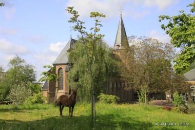 Midden in het mooie dorp Kerkwijk