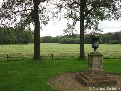 Kerspel Goor (buurtschap van Markelo), monument aan de Weldammerlaan, door landgoed Twickel geschonken aan havezate Weldam.