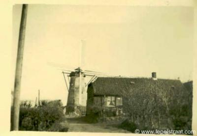 Kladde, de molen van de buurtschap is helaas in 1989 afgebroken