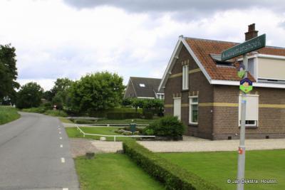 Knollemanshoek, een buurtschap dicht bij de provinciale weg naar Montfoort en de Hollandse IJssel
