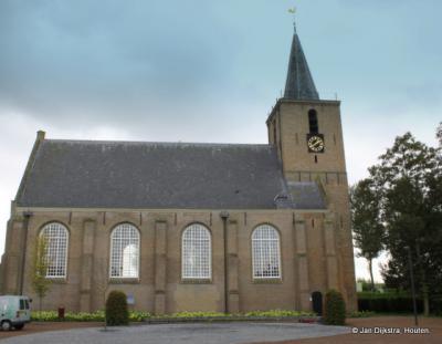 De Nicolaaskerk in Kortgene.