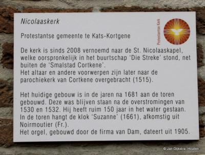 Tekst en uitleg bij de Nicolaaskerk in Kortgene.
