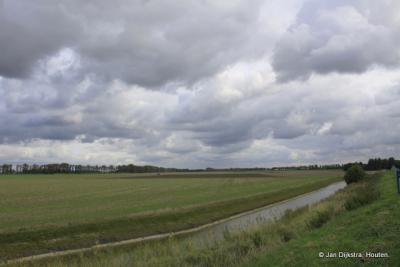Het Zeeuwse landschap bij Kortgene.