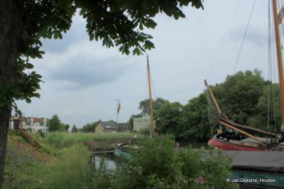 Bij de haven van Krimpen aan de Lek