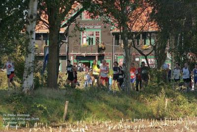 Kring van Dorth, de Kleine Haarloop is genoemd naar jeugdherberg (StayOkay) De Kleine Haar, waar start en finish van deze loop plaatsvinden. (© Eric Beatse)