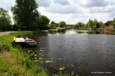 De Kromme Mijdrecht, oorspronkelijk een riviertje.