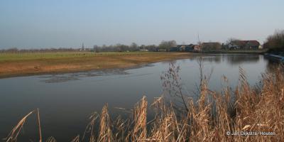 De Kromme Rijn bij Cothen.