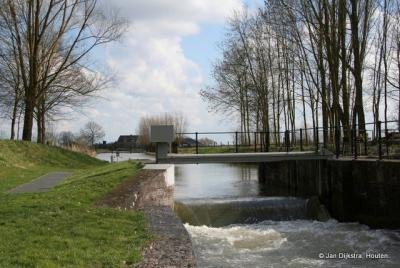 Sluisje in de Kromme Rijn bij Werkhoven