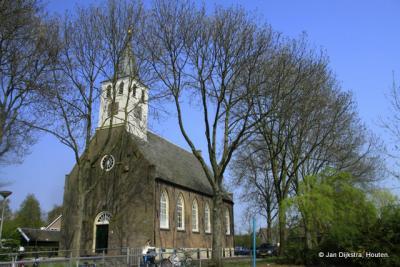 We staan bij de kerk van Kwadijk
