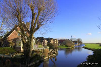Nieuwbouw in de polder bij Lageweg