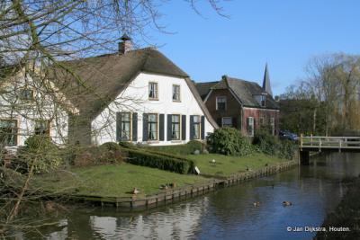 Langbroek, dorpsgezicht vanuit het noorden gezien