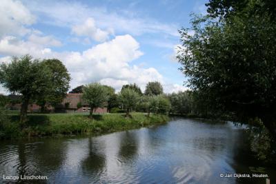 Buurtschap Lange Linschoten aan het gelijknamige riviertje
