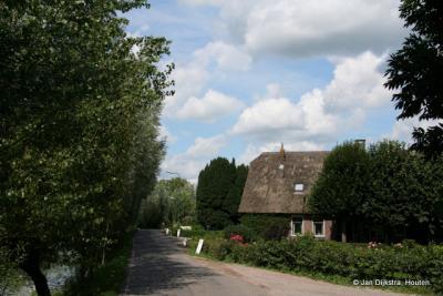 Prachtig wandelen en fietsen is het daar langs de Lange Linschoten