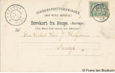 Langeweg heette tot 1910 Slikgat, dus als bijvoorbeeld verzamelaar van oude ansichtkaarten en poststempels kom je tot dat jaar die naam nog tegen op kaarten en in afstempelingen