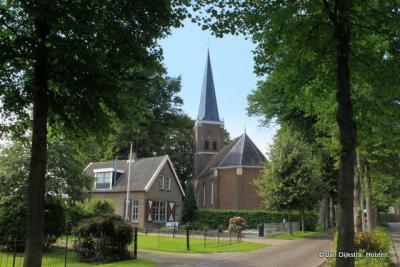 De Hervormde kerk van Langweer aan de Oasingaleane