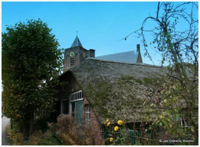 Een heel oud boerderijtje in Leerbroek