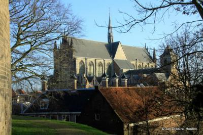 De Hooglandse kerk gezien vanaf de Burcht.