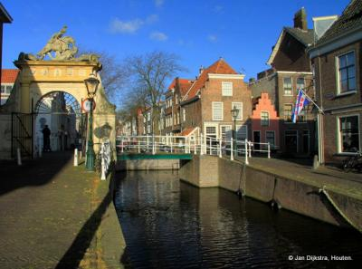 Een mooi hoekje in Leiden