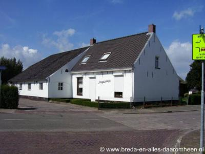 Lepelstraat, op de hoek Kladseweg/Vagevuur vind je Huize Hoogewerf uit 1717