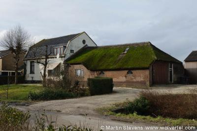 Buurtschap Kerklaan bij het dorp Loenen aan de Vecht.