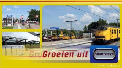 Maarheeze. Sinds juni 2010 heeft Maarheeze een NS-station.