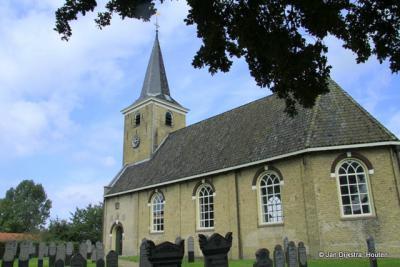 De kerk van Makkinga.