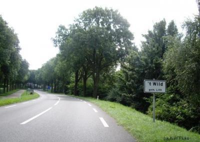 Volgens de plaatsnaamborden en de lokale websites heet buurtschap 't Wild 't Wild en niet Het Wild, zoals Google Maps en de atlas Noord-Brabant ons willen doen geloven.
