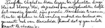 Mariaheide, de Commissaris van de Koningin vond het bij zijn bezoek aan Veghel in 1915 maar niets dat de pastoor voor het kersverse dorp op de plek van de buurtschappen Lage Hei en Hooge Hei de naam Maria-Heide had bedacht. Zie ook bij Naam > Naamgeving.