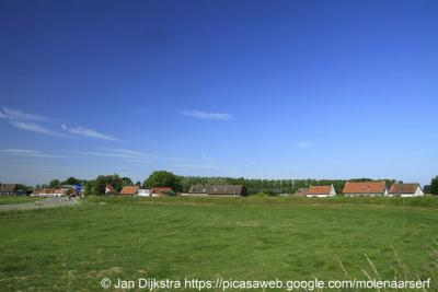 Mauritsfort (buurtschap van Hoek), buurtschapsgezicht.