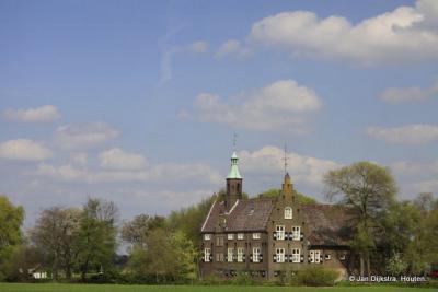 Een herenboerderij bij Meeuwen.