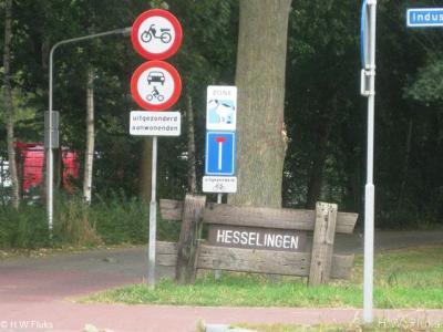 De voorheen Staphorster buurtschap Hesselingen maakt sinds 1961 deel uit van gem. Meppel en ligt nu in de wijk Koedijkslanden. De buurt aan de weg Hesselingen, N van het sportpark, heeft nog wel een eigen 'plaatsnaambord'.
