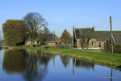 Buurtschapsgezicht van Middelburg ZH.