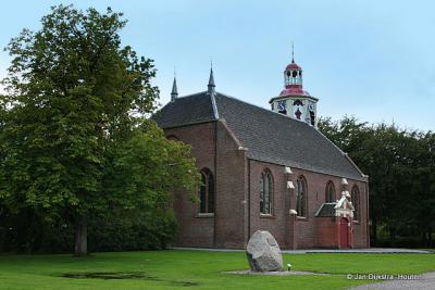De Hervormde kerk van Midwolda.
