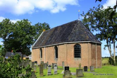 De kleine kerk van Mildam