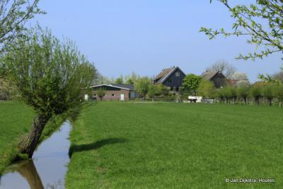 Minkeloos, een buurtschap in de Alblasserwaard niet ver van Noordeloos