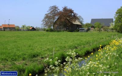 Groene Hart, buurtschap Minkeloos in de Alblasserwaard