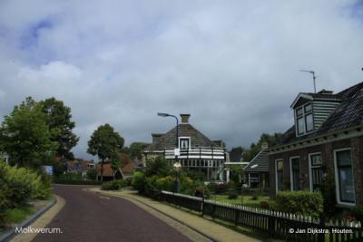 Het mooie dorp Molkwerum