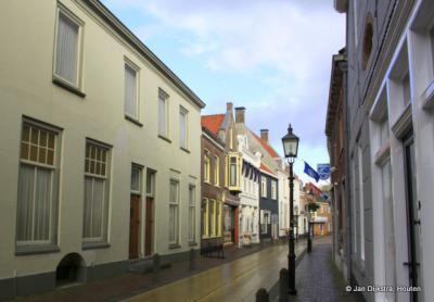 De Hoogstraat, de oudste en belangrijkste straat van Montfoort