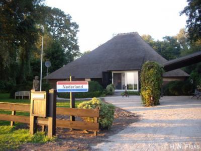 Nederland, plaatsnaambord, particulier initiatief (augustus 2008)