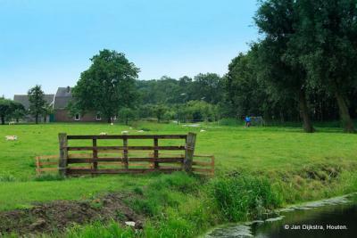 Het is erg landelijk daar in Oud-Wulven.