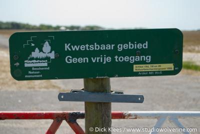 Nieuw-Haamstede (buurtschap van Haamstede), natuurgebied De Kop van Schouwen is plaatselijk kwetsbaar en beschermd.