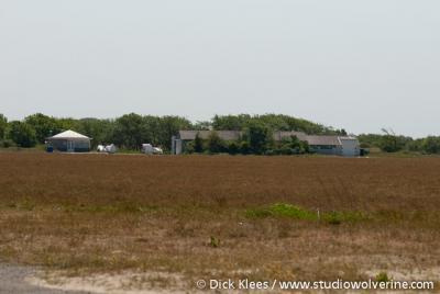 Nieuw Haamstede (buurtschap van Haamstede), natuurgebied en zweefvliegveld De Kop van Schouwen.
