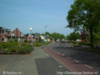 Nieuw-Roden, Dorpsstraat.
