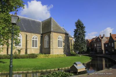In het kerkringdorp Nieuwe-Tonge