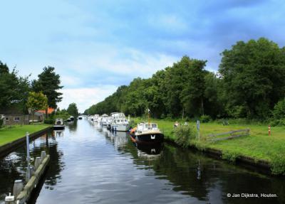 De Engelenvaart bij de brug tussen Nieuweschoot en Rottum